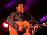 Marcos Orozco performing at Tejano Music Awards